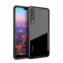 iPaky Survival Anti-Fall szilikon tok Huawei P20 Pro, fekete