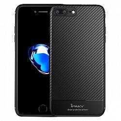 iPaky szilikon tok Carbon Fiber Flexible iPhone 7/8 Plus Fekete