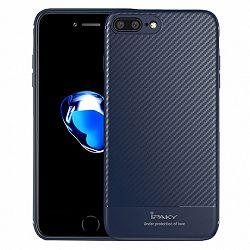 iPaky szilikon tok Carbon Fiber iPhone 7/8 Plus Kék