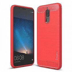 iPaky szilikon tok Slim Carbon Huawei Mate 10 Lite Piros