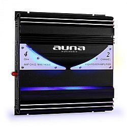 Kétcsatornás Auna AMP-CH02 1400W auto-erősítő