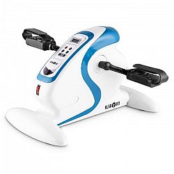 KLARFIT Cycloony MiniBike, motor, 120 kg, távirányító, fehér/kék