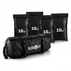 KLARFIT Force Bag, sandbag, homokzsákok, 18 kg