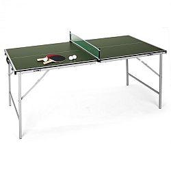 KLARFIT King Pong, ping-pong asztal, összecsukható, zöld