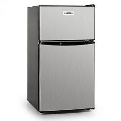 Klarstein Big Daddy Cool, 80 liter, A+ osztály, hűtőszekrény, rozsdamentes acél, fekete