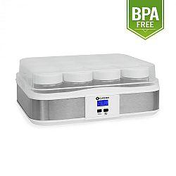 Klarstein Gaia, 12 pohár, joghurt készítő gép, időzítő,fehér