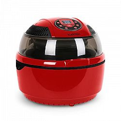Klarstein VitAir hőlégkeveréses fritőz, 1400 W, 9 l, grillezés, sütés, piros