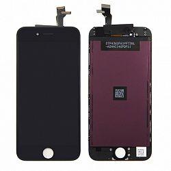 LCD kijelző Apple iPhone 6s Plus + érintőpanel fekete OEM