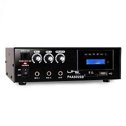 LTC PAA60USB PA erősítő, USB, MP3, mikrofon, 12 V