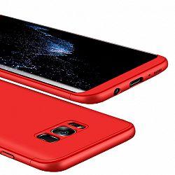 Műanyag tok 360 Full Body Samsung Galaxy S8 Piros