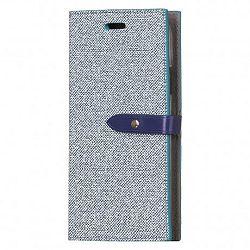 Mercury Goospery Milano könyv tok iPhone X/XS, kék
