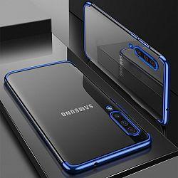 MG Clear Color Case szilikon tok Samsung Galaxy A70, kék