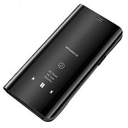 MG Clear View könyv tok Samsung Galaxy S10, fekete