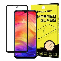 MG Full Glue kijelzővédő üvegfólia Samsung Galaxy A70, fekete/átlátszó