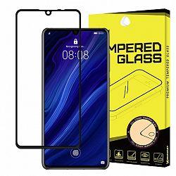 MG Full Glue Super Tough kijelzővédő üvegfólia  Huawei P30, fekete