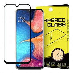 MG Full Glue Super Tough kijelzővédő üvegfólia Samsung Galaxy A20e, fekete