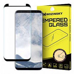 MG kijelzővédő üveg 3D Samsung Galaxy S8, Fekete