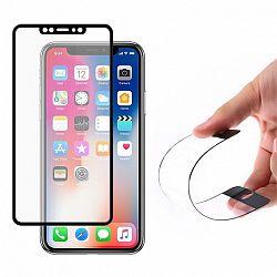 MG kijelzővédő üveg 5D Full Glue PRO+ iPhone X/XS Fekete