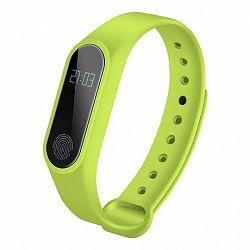 NEOGO SmartBand M2 Plus, okoskarkütő, zöld