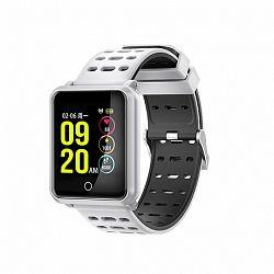 NEOGO SmartBand N88, okoskarkötő, fehér/fekete