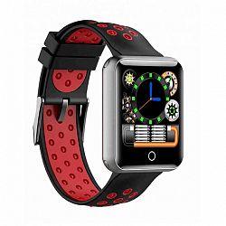 NEOGO SmartBand N88, okoskarkötő, fekete/piros
