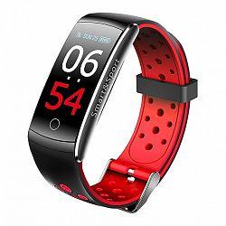 NEOGO SmartBand Q8S, okoskarkötő, fekete/piros