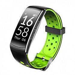 NEOGO SmartBand Q8S,okoskarkötő, fekete/zöld