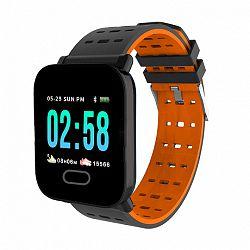 NEOGO SmartWatch A6, okosóra, narancssárga