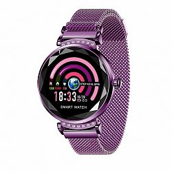 NEOGO SmartWatch H2, női okosóra, lila