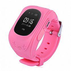 NEOGO SmartWatch Q50 LCD, okosóra gyerekeknek, rózsaszín