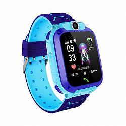 NEOGO SmartWatch QS12 LBS,okosóra gyerekeknek, kék
