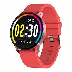 NEOGO SmartWatch QS20, női okosóra, piros