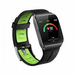 NEOGO SmartWatch XS1, okosóra, fekete/zöld