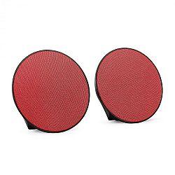 OneConcept Dynasphere hordozható Bluetooth hangszórók, AUX, piros