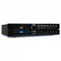 PA LTC PAA210DVD erősítő, DVD lejátszó, USB, MP3, 24 V