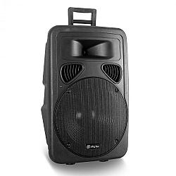 Passzív 38 cm-es PA hangszóró Skytec, ABS, 600 W
