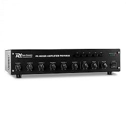 Power Dynamics PDV60Z, 60 W, 6 csatornás PA erősítő, 4 zóna