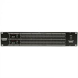 QTX CEQ231 grafikus 31-sávos equalizer, hangszínszabályzó, 2 csatorna