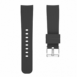 Samsung Galaxy Watch Active Silicone Line (Small) szíj, Black