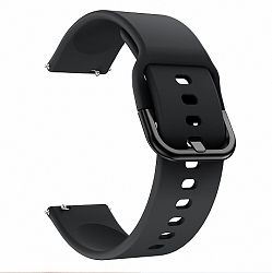 Samsung Galaxy Watch Active Silicone szíj, Black