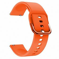 Samsung Galaxy Watch Active Silicone szíj, Orange