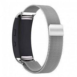 Samsung Gear Fit 2 Milanese szíj, Silver