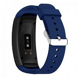 Samsung Gear Fit 2 Silicone Land szíj, Dark Blue