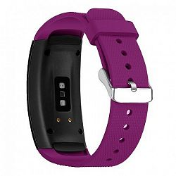 Samsung Gear Fit 2 Silicone Land szíj, Dark Purple