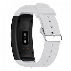 Samsung Gear Fit 2 Silicone Land szíj, White
