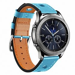Samsung Gear S3 Leather Italy szíj, Blue