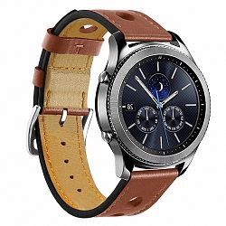Samsung Gear S3 Leather Italy szíj, Brown