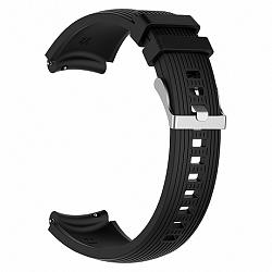 Samsung Gear S3 Silicone Davis szíj, Black