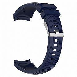 Samsung Gear S3 Silicone Davis szíj, Dark Blue