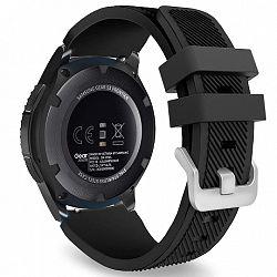 Samsung Gear S3 Silicone Sport szíj, Black